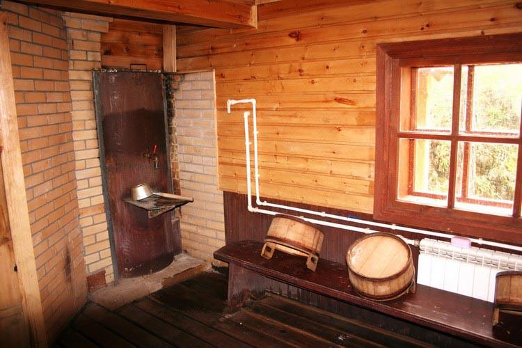 фото мытье в деревенской бане